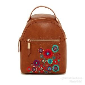 NWT Rare Steve Madden Jules Embroidered Backpack
